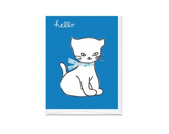 Hello Kitten Card