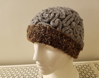 Braaaaain hat - adult regular, ready to ship
