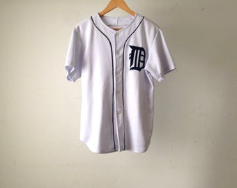 DETROIT TIGERS baseball vintage t shirt JERSEY 90s classic
