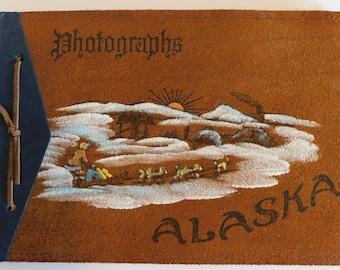 Vintage Alaska Photograph album