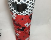 Scottie Dog-Wine Bag-Wine Gift Bag-Scotties-Westies-Wine Tote Bag-Dog Lover-Hostess Gift-Graduation Gift-Fathers Day -Gift-Mothers Day