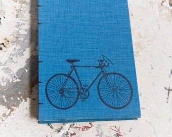 1974 BICYCLING Vintage Sketch Notebook Journal