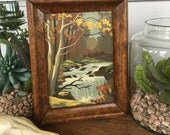 Into the Woods ~ Vintage Paint by Number