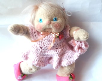 "Ooak Art Doll Soft Sculpture ""Ella"""