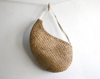 Large Basket Sling Bag