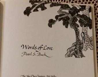 Pearl Buck Words of Love 1974