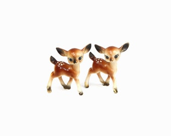Vintage Deer Figurines: Celluloid Deer