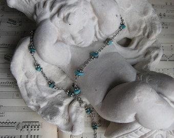 Napier Turquoise Pendant Necklace