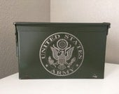 Military Army Navy Seal Marines Air Force Ammo Box Gift Father deployment retirement dad husband brother USA military Survival Valentines
