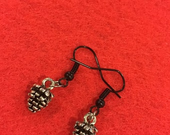 I Found A Little Pinecone Earrings inspired by Twin Peaks Fire Walk With Me