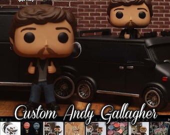 Supernatural Andy Gallagher - Custom Funko pop toy