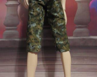 45cm Green Moss Capri Pants MSD BJD