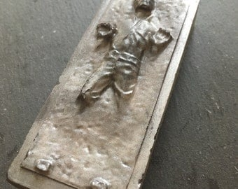 Star Wars Soaps - Han Solo in Carbonite soap - Father's day gift - men soaps - May the Force be with you - geek nerd - boyfriend soap
