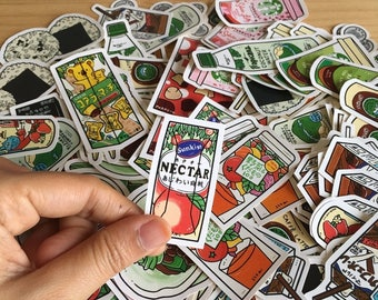 Sticker : Japanese Foods & Drinks