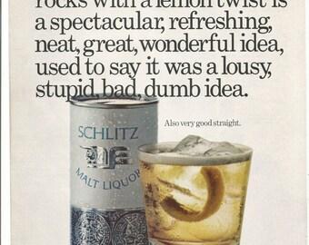 Schlitz Malt Liquor Etsy
