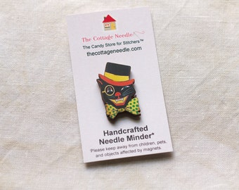 Pick One Halloween Needle Minders by The Cottage Needle magic cross stitch embroidery tool vintage look October 31