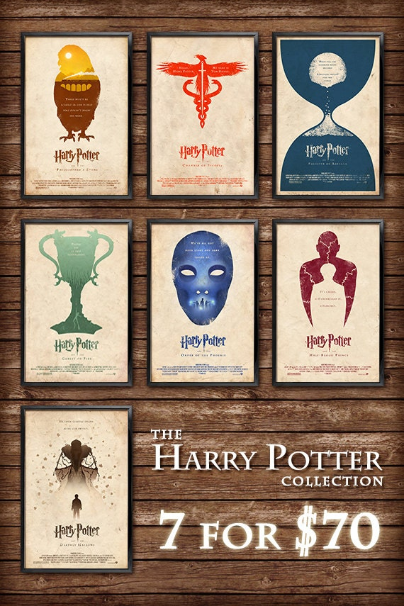 The Harry Potter Collection 11x17 Size
