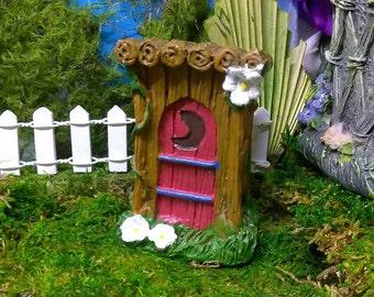 Outhouse Miniature For Fairy Garden or Dollhouse