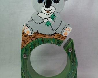 Koala Baby Wooden Bank - Free Personalization Available