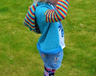 Pony Hoodie 3+ Knitting Pattern Collection