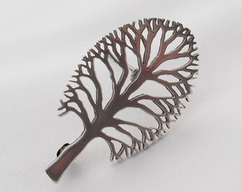 James Avery Sterling Silver Brooch - Tree of Life - Retired Pin Signed JA