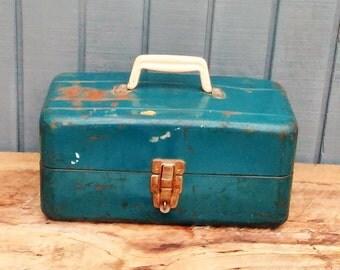 Vintage Tool Box - Tackle Box - Union Steel Tool