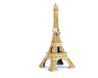 Eiffel Tower Statue Ring Holder