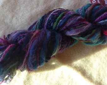 Hope Jacare - Creative textiles Fab felting hand dyed and hand spun wool yarns - 58g - FFY27