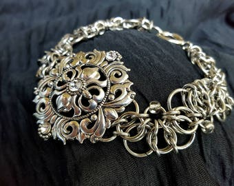 Celtic Lace Bracelet
