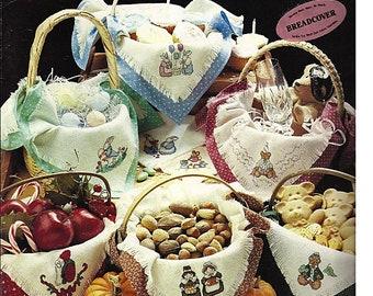 Bread Cloths For Celebrations / Cross Stitch Pattern Leaflet Leisure Arts 728