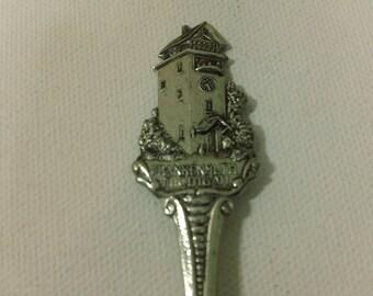 Vintage Frankenmuth, Michigan souvenir Collector Spoon