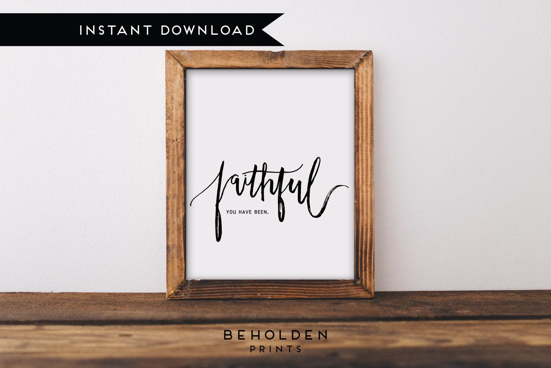 Instant Download Dorm Wall Art Scripture Printable Quote