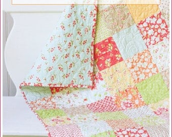 Coney Island Baby Quilt Kit - Crib Quilt Kit - Small Lap Quilt Kit - CIBQK