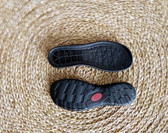 Rubber soles for my female felted clogs and booties - Winter shoes, snow boots soles - beige rubber soles for womens shoes