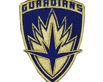Guardians of the Galaxy Logo Patch Emblem Marvel Movie Iron-On Applique