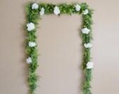 Wedding Backdrop, Flower Garland, Greenery Garland, Greenery Backdrop, Artificial Greenery, Wedding Garland, Wedding Arch, Wedding Decor