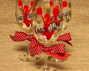 Cheer Wine Glass