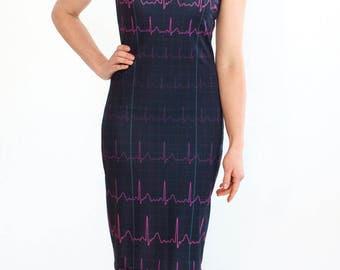 EKG Heartbeat Dress
