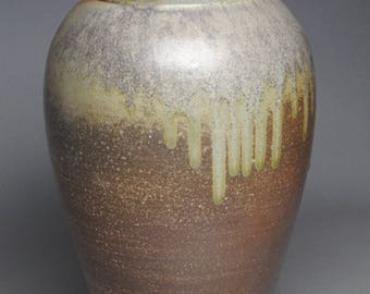 Vase Wood Fired Pottery G55
