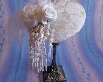 BRIDAL FASCINATOR HAT