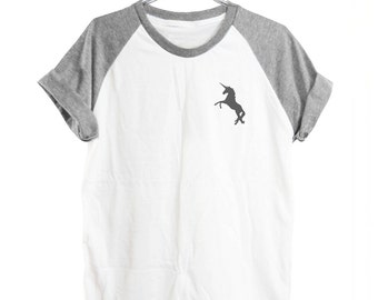 Unicorn tee blogger tee tumblr funny shirt cute graphic tee funny tops tumblr shirt women graphic tees short sleeve shirt unisex size S M L