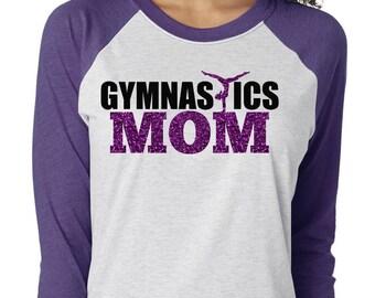 Gymnastic Mom Shirts, Gymnist Mom, Gymnastic Shirt, Gymnastics, Gymnastics Mom Tee, Gymnastic Tee, Gymnastic Mom Tshirt, Mothers Day Shirt