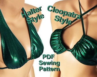 Halter or Cleopatra Style Top (5 Sizes)