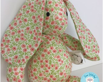 SALE*REDUCED* Mini Bunny - Flowers, Spring