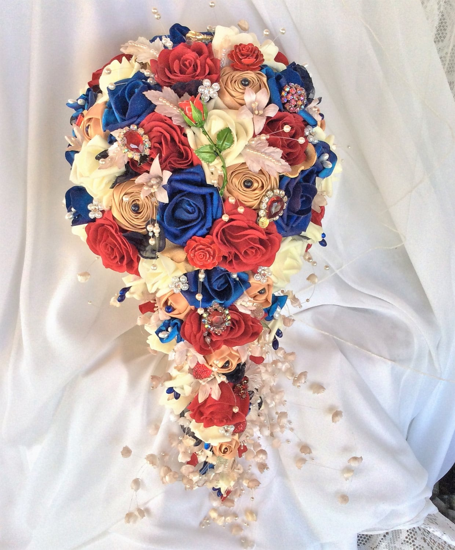 Beauty And The Beast Wedding Wedding Flower Bouquet Disney