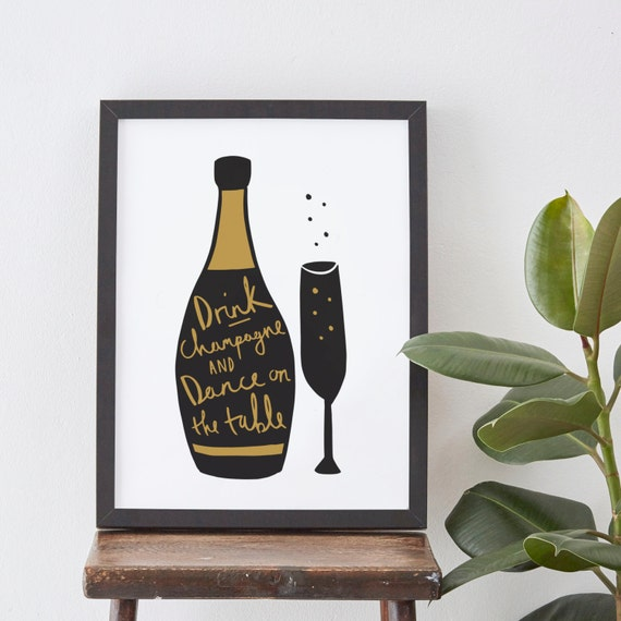 8x10 champagne kitchen print champagne print home for 8x10 kitchen designs
