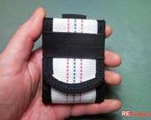 Fire hose mini wallet for firefighter fireman husband slim safe vegan ...