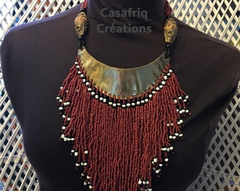 "Necklace ""Masai Style"""