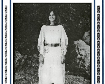 Women's Native American Plains Indian Dress sizes 8-20 Eagle's View Sewing Pattern