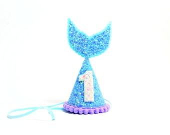Mermaid Party Hat    Mermaid Birthday Party Hat    Mermaid Birthday Outfit    Ariel Under the Sea